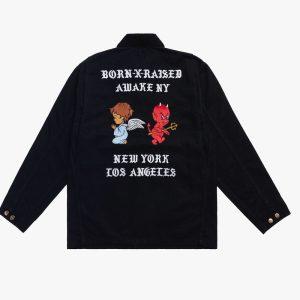 Awake x Born X Raised Carhartt WIP Chore Coat Black 1