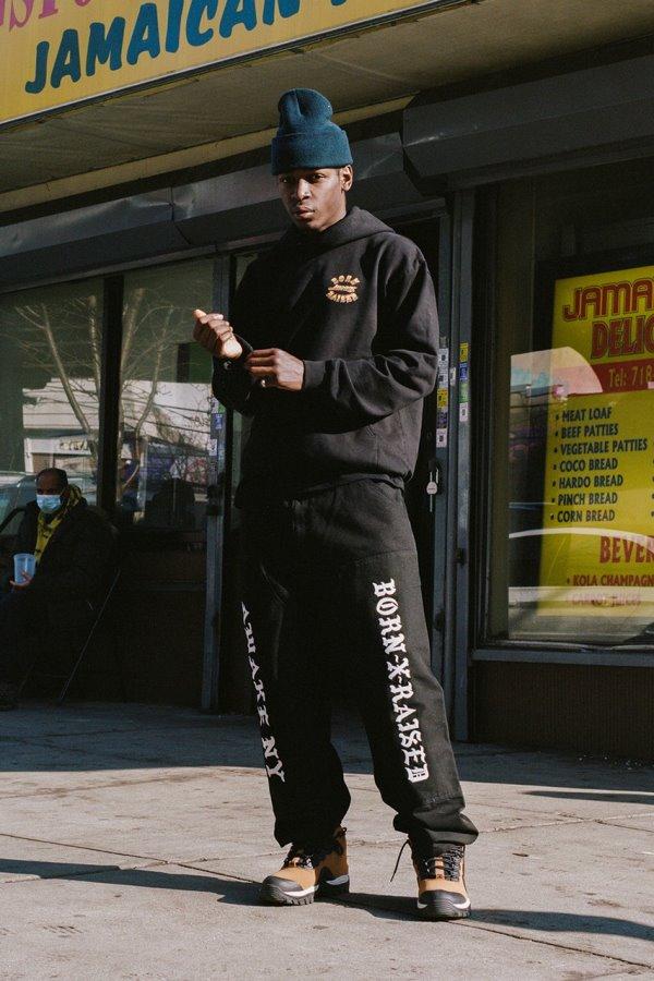 Awake x Born X Raised Carhartt WIP Double Knee Pant Black 1