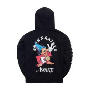Awake x Born X Raised Fantasia Hoody Black 1