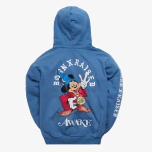 Awake x Born X Raised Fantasia Hoody Slate Blue 1