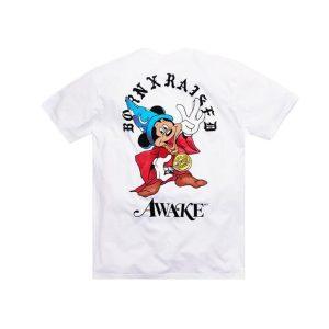 Awake x Born X Raised Fantasia Tee White 1