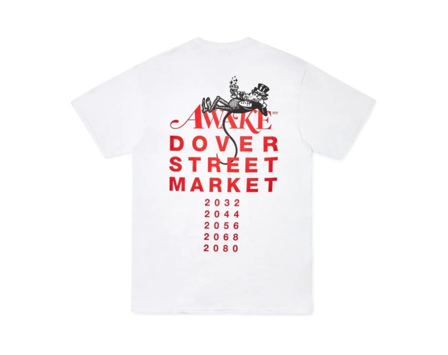 Awake x Dover Street Market Year of the Rat T Shirt White 1