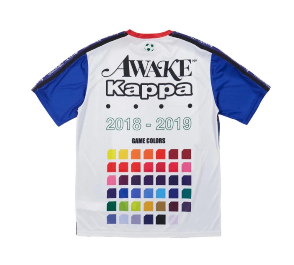 Awake x Kappa Evander Jersey WhiteRoyalRed 1
