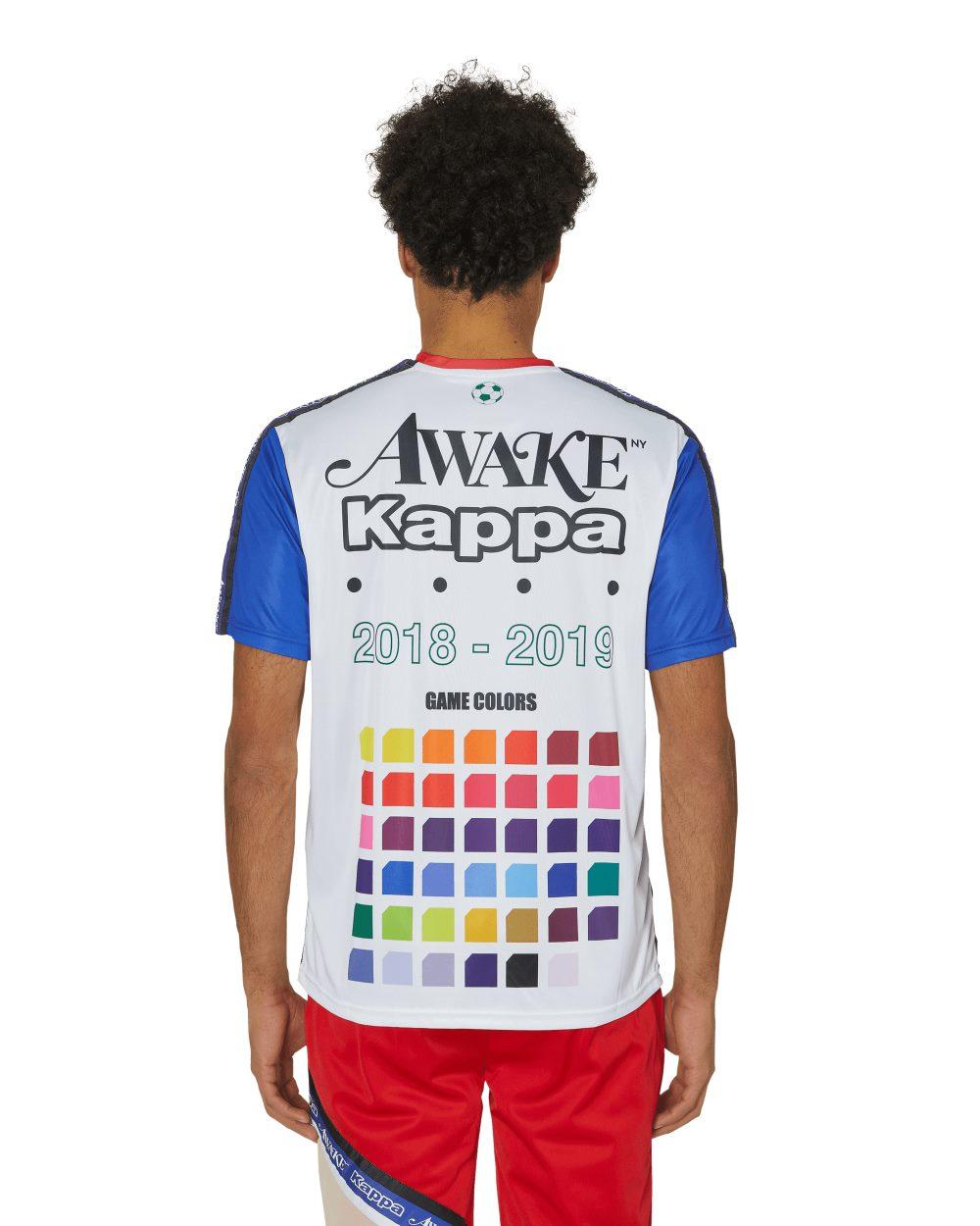 Awake x Kappa Evander Jersey WhiteRoyalRed 4