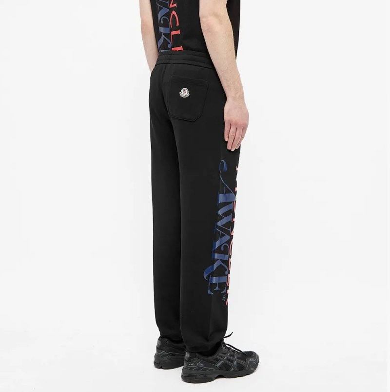 Awake x Moncler Casual Sweatpants Black 6