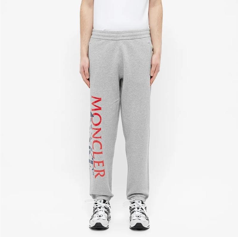 Awake x Moncler Casual Sweatpants Light Grey 4