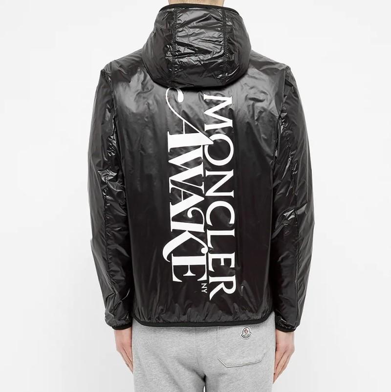 Awake x Moncler LAU Down Jacket Black 6