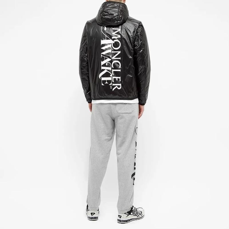 Awake x Moncler LAU Down Jacket Black 7