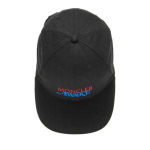 Awake x Moncler Logo Lock Hat Black 1