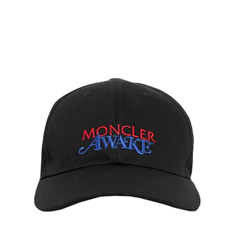 Awake x Moncler Logo Lock Hat Black