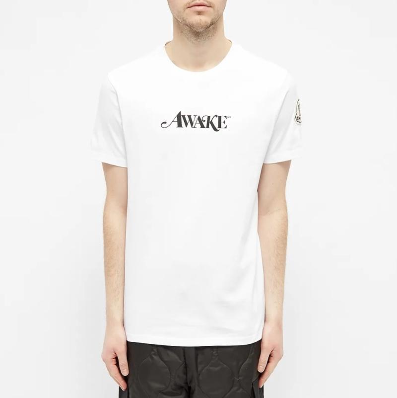 Awake x Moncler Logo Tee White 3