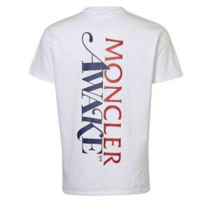 Awake x Moncler Tee White 1
