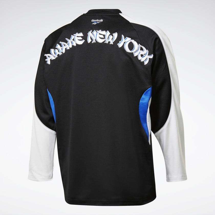 Awake x Reebok Hockey Jersey Black 1