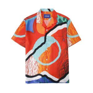 Awake x Sam Friedman Silk Camp Shirt Print