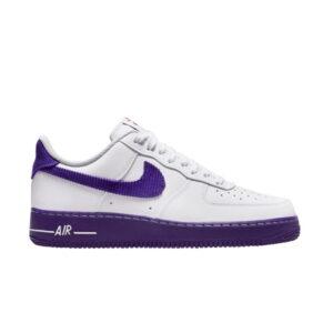 Nike Air Force 1 07 LV8 EMB White Court Purple