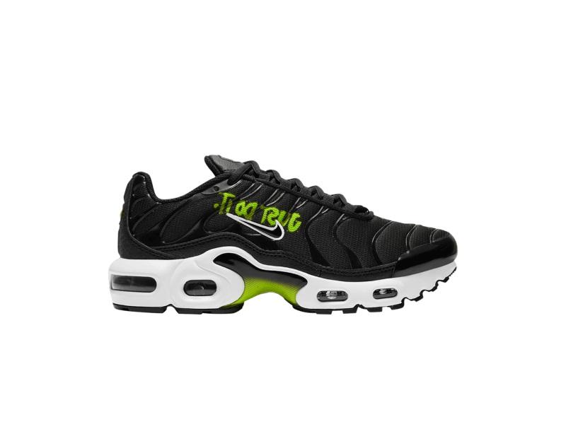 Nike Air Max Plus 1 GS Black Volt