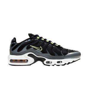 Nike Air Max Plus GS Black Barely Volt