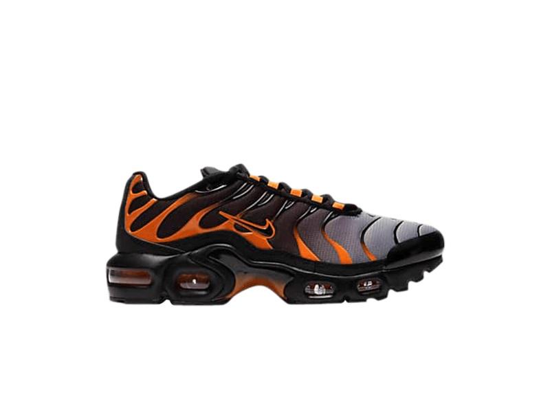 Nike Air Max Plus GS Black Team Orange