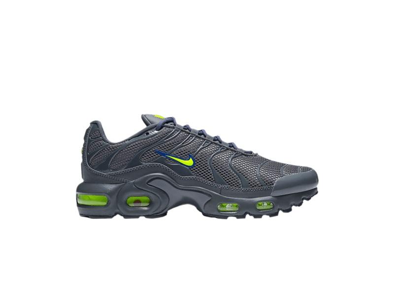 Nike Air Max Plus GS Dark Grey Volt