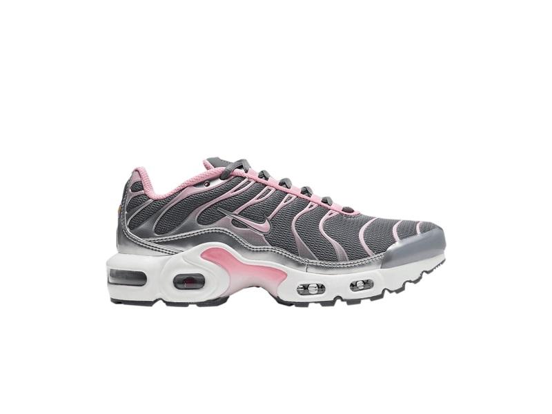 Nike Air Max Plus GS Metallic Silver Pink