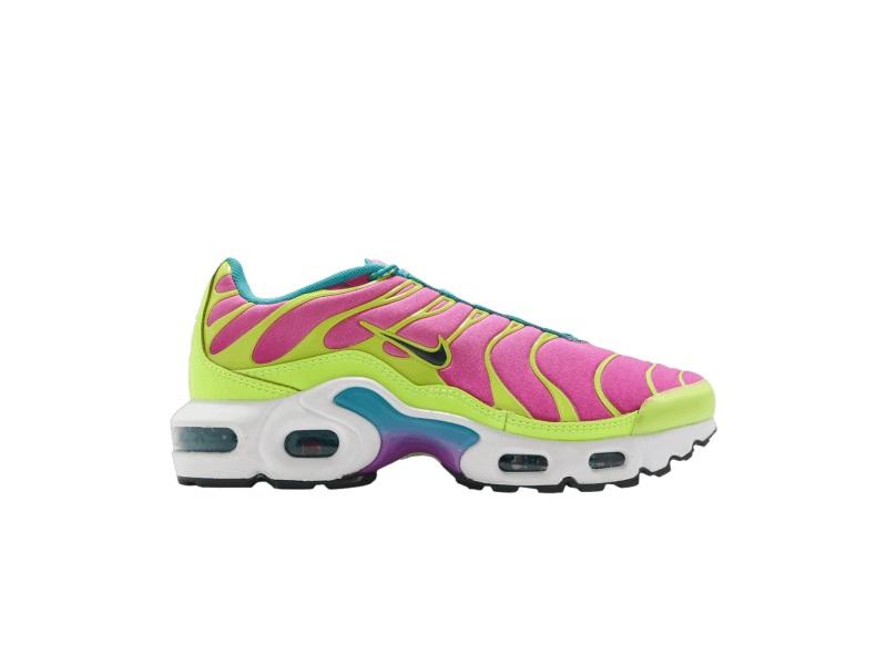 Nike Air Max Plus GS Volt Pink Blast