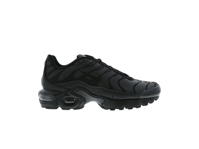 Nike Air Max Plus LE BG Triple Black