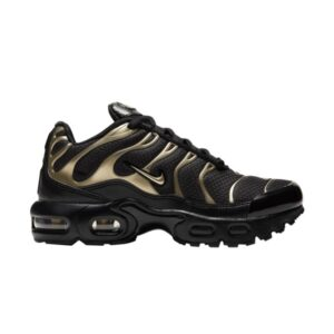 Nike Air Max Plus PS Black Metallic Gold