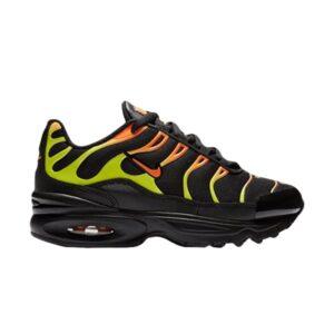 Nike Air Max Plus PS Black Volt Total Orange