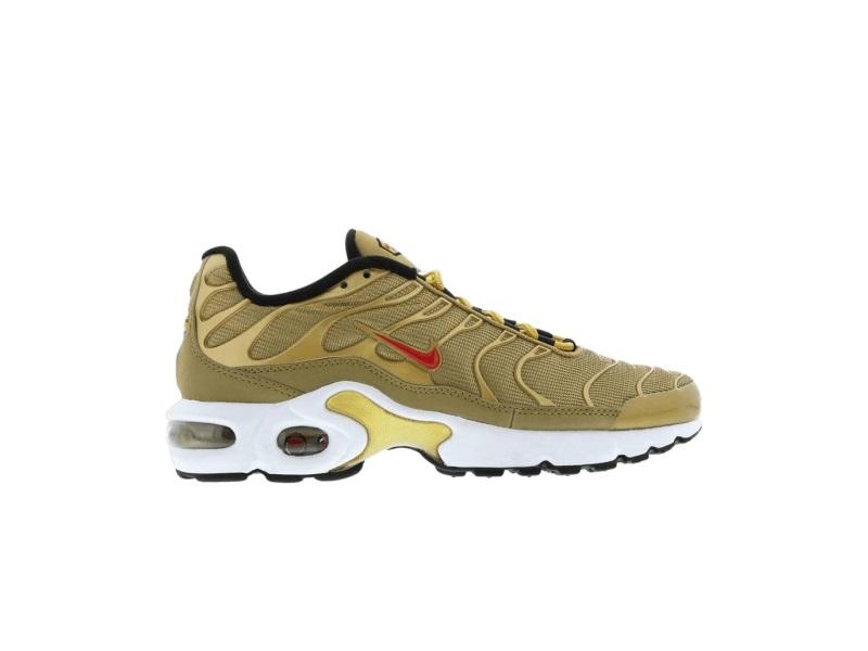 Nike Air Max Plus QS GS Metallic Gold