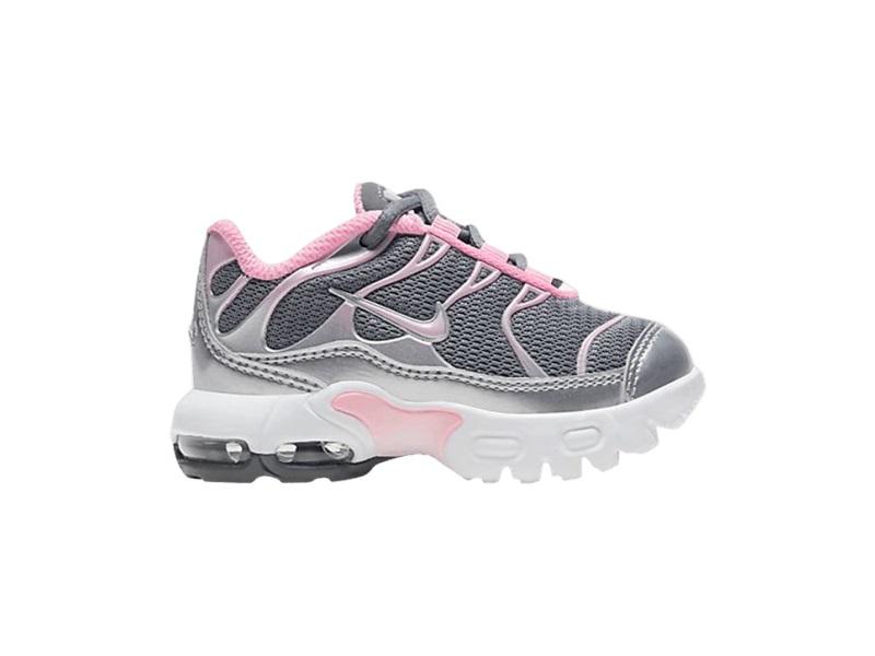 Nike Air Max Plus TD Metallic Silver Pink
