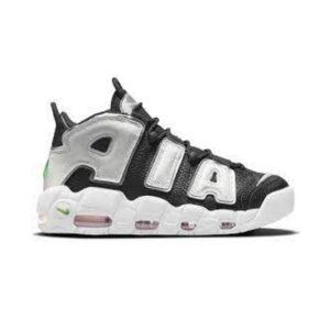 Nike Air More Uptempo Black White Green