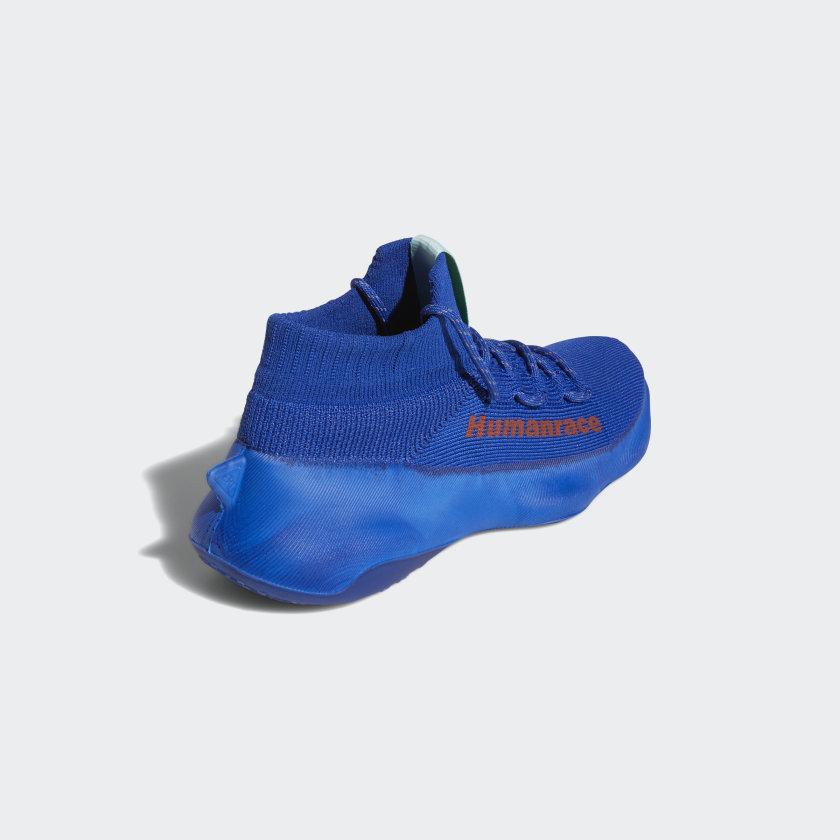 Pharrell x adidas Human Race Sichona Royal Blue 4