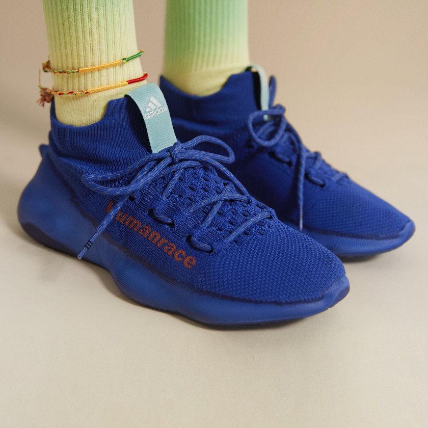 Pharrell x adidas Human Race Sichona Royal Blue 7