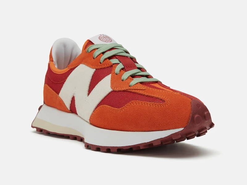 Todd Snyder x New Balance 327 Farmers Market Pack Pomegranate 2