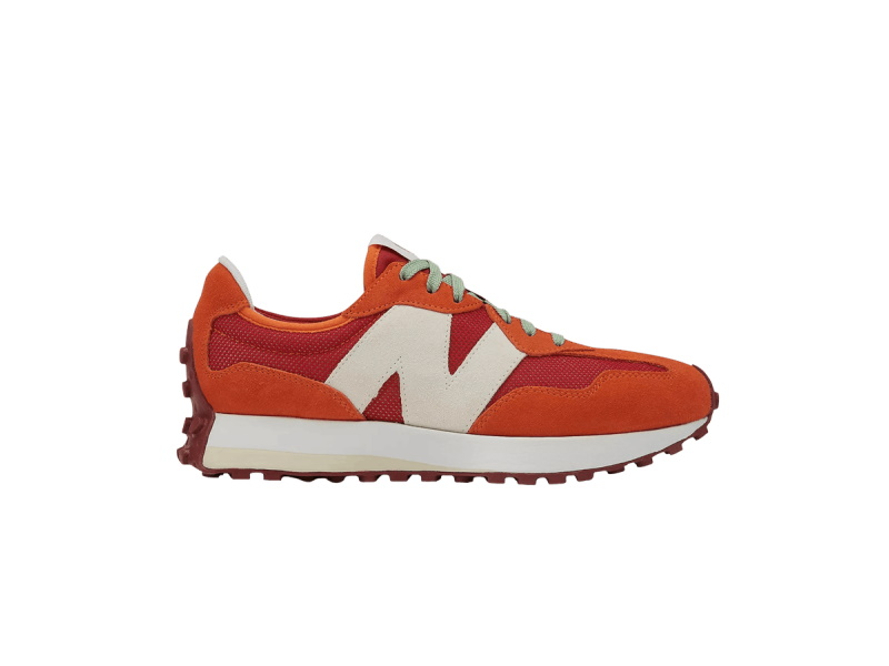 Todd Snyder x New Balance 327 Farmers Market Pack Pomegranate