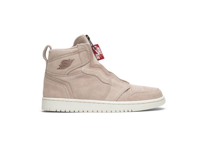 Wmns Air Jordan 1 High Zip Partical Beige