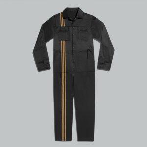 adidas Ivy Park 3 Stripes Jumpsuit Gender Neutral Black