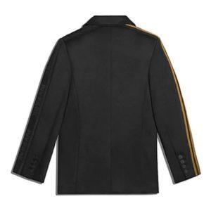 adidas Ivy Park 3 Stripes Suit Jacket BlackMesa 1