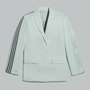 adidas Ivy Park 3 Stripes Suit Jacket Green TintDark Green