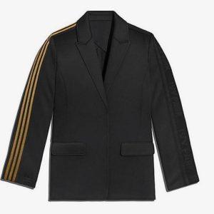 adidas Ivy Park 3 Stripes Suit Jacket Plus Size Black