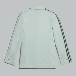 adidas Ivy Park 3 Stripes Suit Jacket Plus Size Green Tint 1