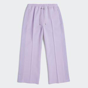 adidas Ivy Park 3 Stripes Suit Pants Plus Size Purple Glow