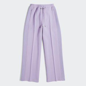 adidas Ivy Park 3 Stripes Suit Pants Purple Glow