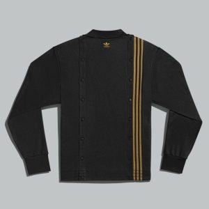 adidas Ivy Park 3 Stripes Track Jacket Gender Neutral Black 1
