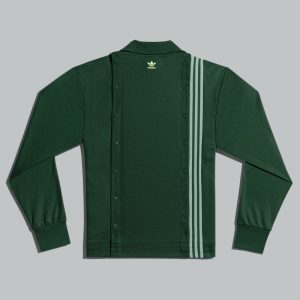 adidas Ivy Park 3 Stripes Track Jacket Gender Neutral Dark Green 1