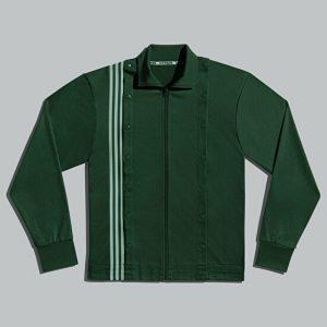 adidas Ivy Park 3 Stripes Track Jacket Gender Neutral Dark Green