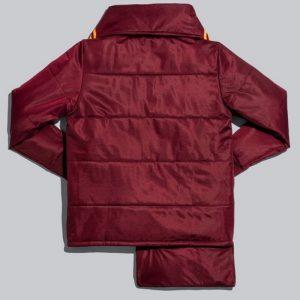 adidas Ivy Park Asymmetrical Jacket MaroonSolar Orange 1