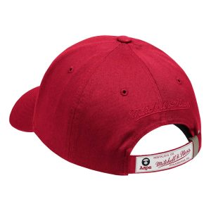 Aape x Mitchell Ness New Jersey Nets Strapback Hat Red 1