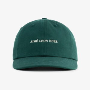 Aime Leon Dore Brushed Nylon Hat Green