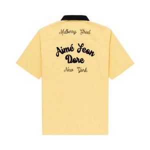 Aime Leon Dore League Shirt Yellow 1